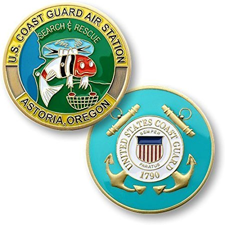 Coast Guard Coin: Air Station Astoria