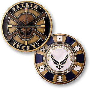 Air Force Coin: Feelin' Lucky
