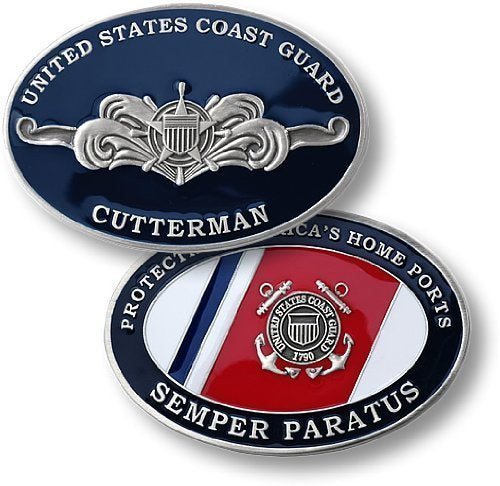 Coast Guard Coin: Cutterman