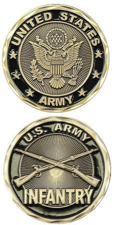 Army Coin: Infantry