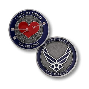 Air Force Coin: I Love My Airman