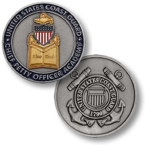 Coast Guard Coin: Chief Petty Officer Academy