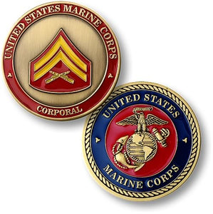 Marines Coin: Corporal