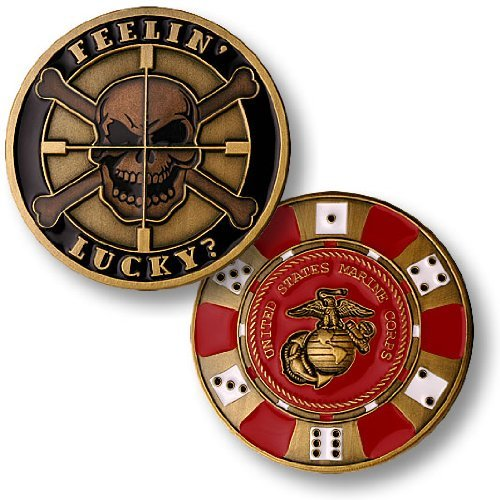 Marines Coin: Feelin' Lucky