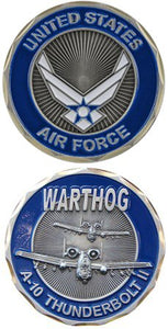 Air Force Coin: Warthog A-10 Thunderbolt II