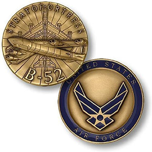 Air Force Coin: B-52 Stratofortress