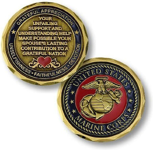Marines Coin: Spouse