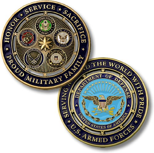 Collector's Coin: Proud Military Family