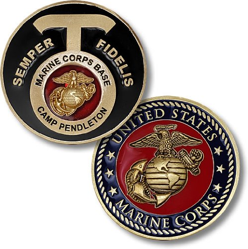 Marines Coin: Camp Pendleton