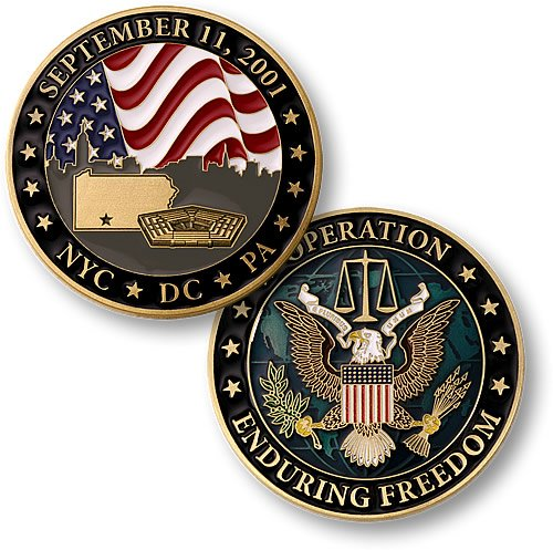 Collector's Coin: September 11 Operation Enduring Freedom