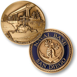 Navy Coin: San Diego Naval Station