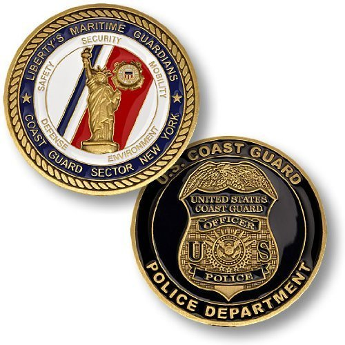 Coast Guard Coin: Police Department NY