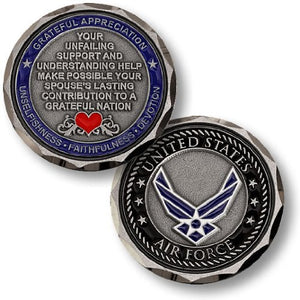 Air Force Coin: Spouse