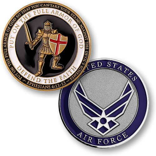 Air Force Coin: Armor Of God
