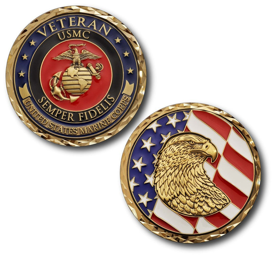 Marines Coin: Veteran