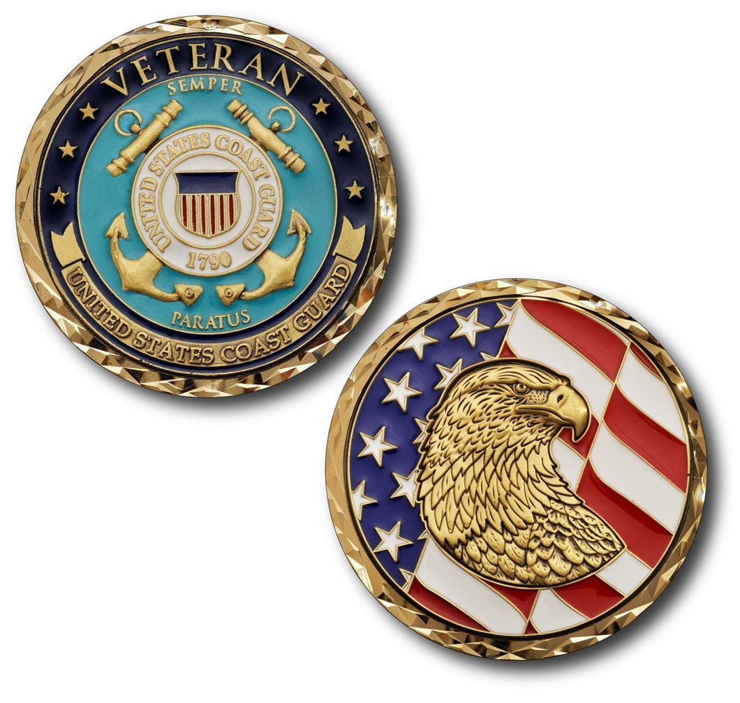 Coast Guard Coin: Veteran