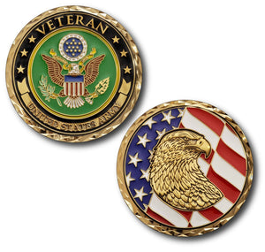 Army Coin: Veteran