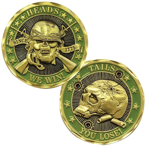 Army Coin: Heads We Win, Tails You Lose
