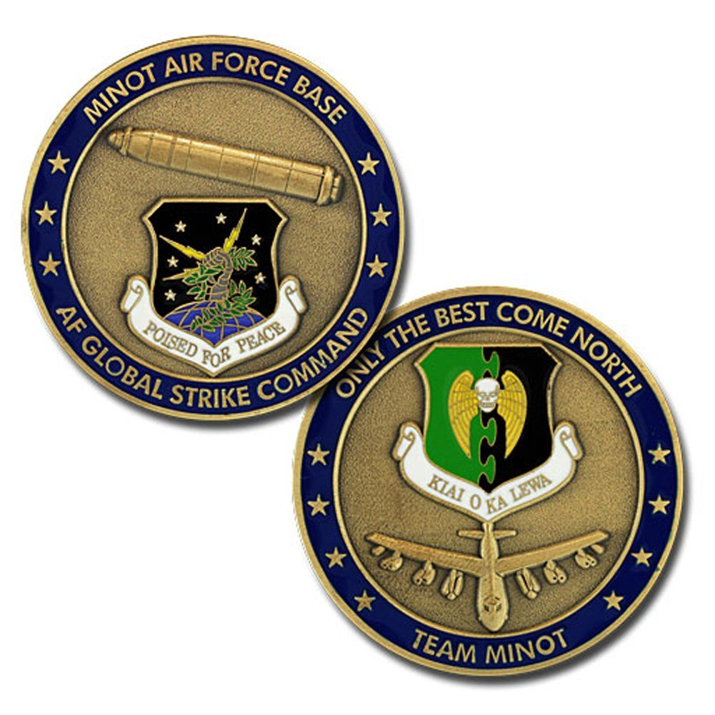 Air Force Coin: Minot Air Force Base