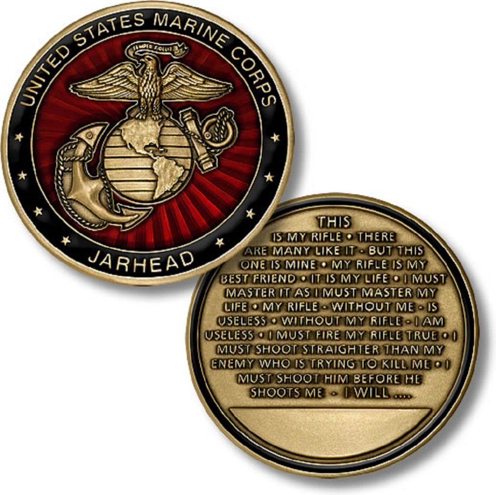 Marines Coin: Jarhead Creed