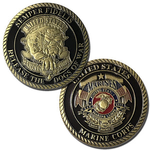 Marines Coin: Devil Dog