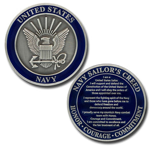Navy Coin: Sailor's Creed