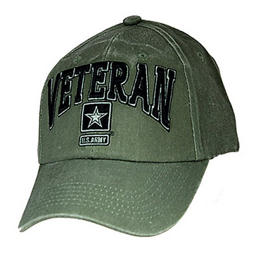Army Hat: Veteran (Green)