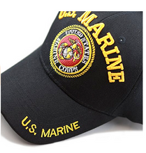 Marines Hat: Embroidered Logo