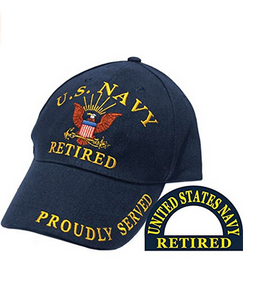 Navy Hat: Retired