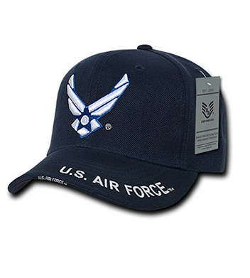 Air Force Hat: Logo (Navy)