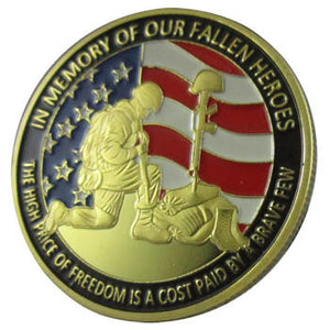 Veteran Coin: In Memory of Our Fallen Heroes
