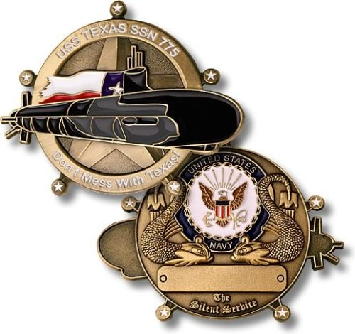 Navy Coin: USS TEXAS SSN775