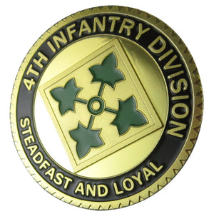 Army Coin: U.S. ARMY 4th Infantry Division Coin