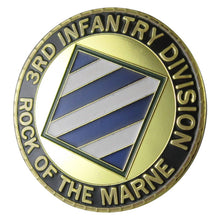 "Army Coin: U.S. ARMY 3rd Infantry Division ""Rock of the Marne"""