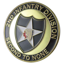 "Army Coin: U.S. ARMY 2nd Infantry Division ""Second to None"""