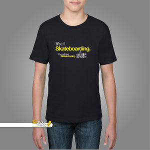 Youth Short Sleeve T-Shirt Everything Skateboarding BASIC