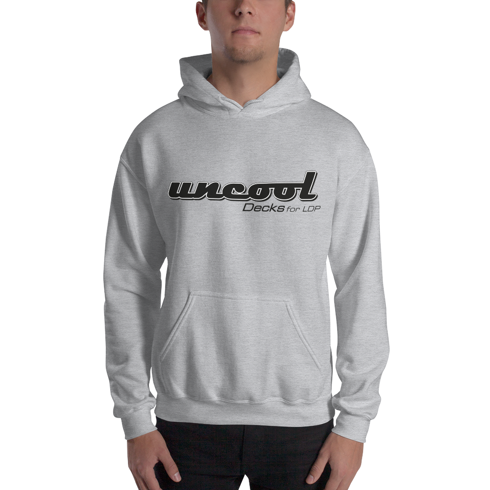 Grey Uncool sweatshirt form the french LDP deck brand, available now !