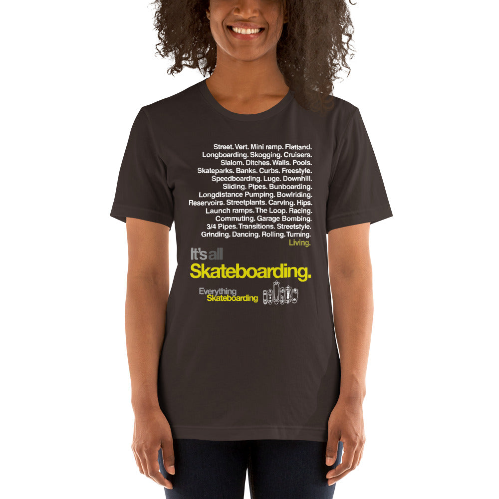 Everything Skateboarding Short-Sleeve Unisex T-Shirt