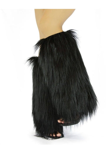 Nelly Bernal Faux Fur Boot Covers