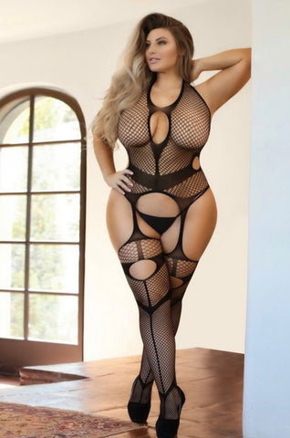 Lingerie Body Stocking Curvy