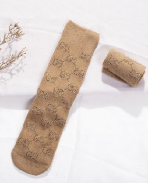 GG bling dresssocks