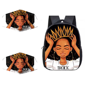 Rock Your Crown Backpack set