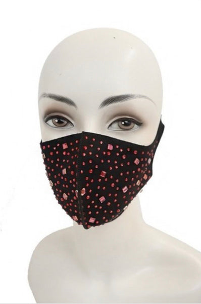 Bling & Studded Mask