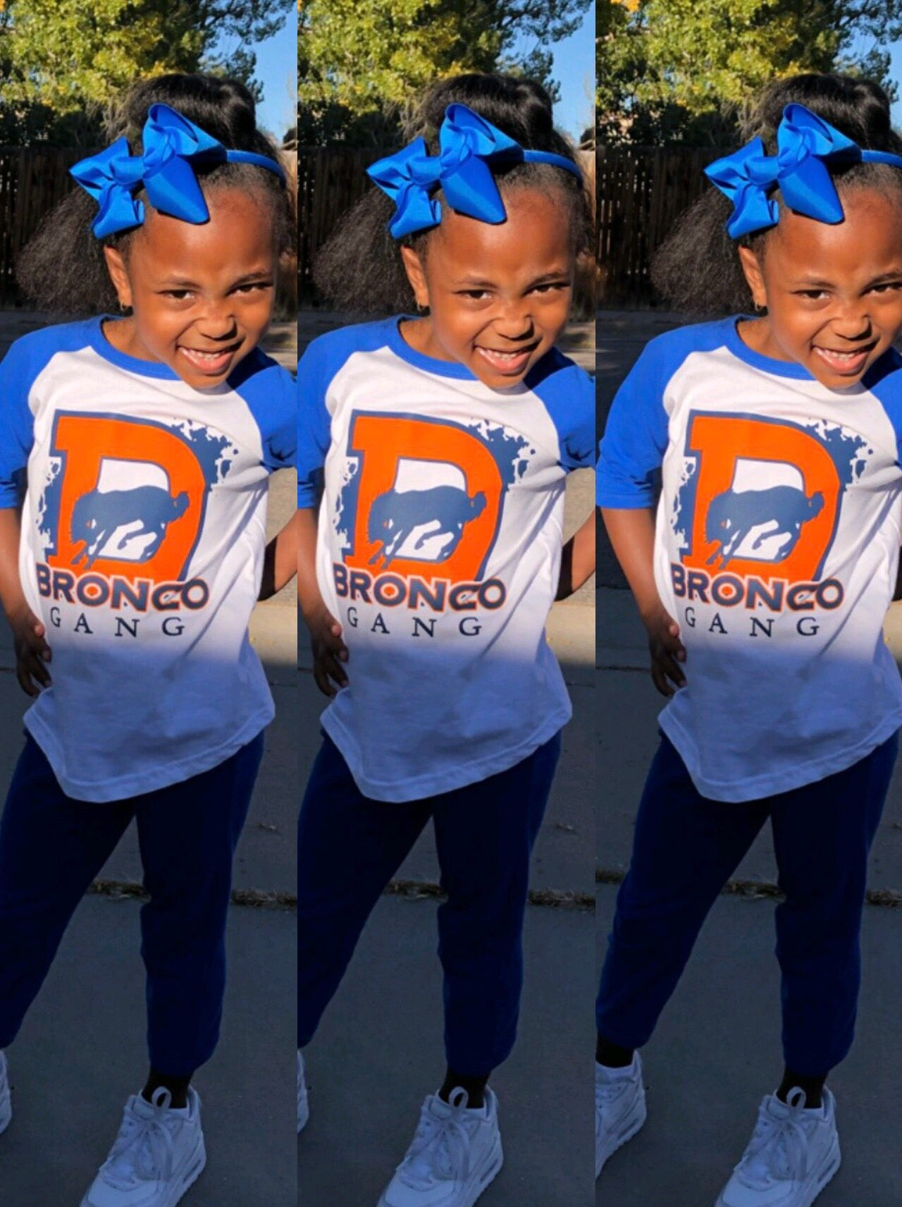 Kids - Bronco Gang Tee Shirt