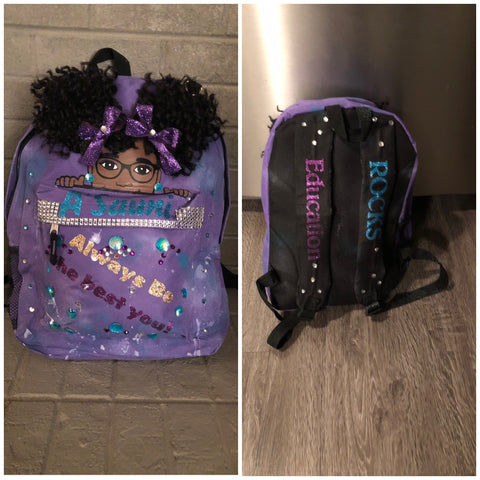 Kids Custom Personalized Backpack