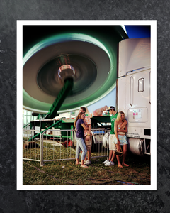 Sale! Behind the Schnecksville Fair (Natalie, Madison, Jordan and Lyndsay), 2005. From the series, County Fair.
