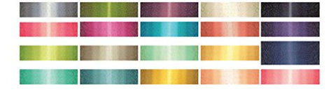 "Image of Metallic Ombre Confetti Jelly Roll - 2.5"" Cotton Strips by V & Co For Moda"