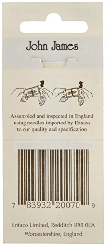 Milliners Hand Needles-Size 3/9 16/Pkg (Parent)