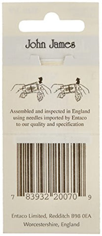 Image of Milliners Hand Needles-Size 3/9 16/Pkg (Parent)