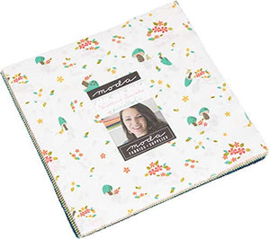 "Woodland Secrets Layer Cake, 42-10"" Precut Fabric Quilt Squares by Shannon Gillman Orr"